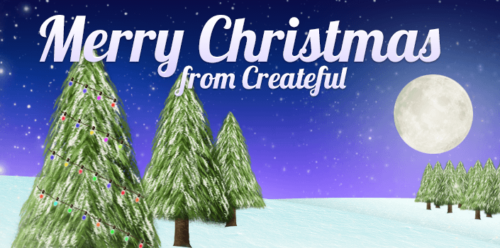 Merry Christmas 2011 from Createful