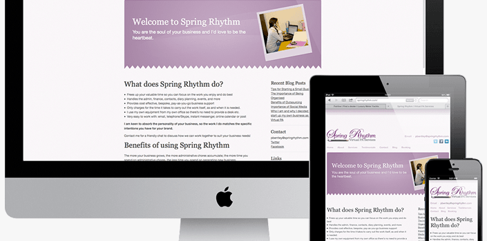 New Website for Spring Rhythm feature image