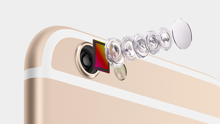 iPhone 6 camera lens dissection