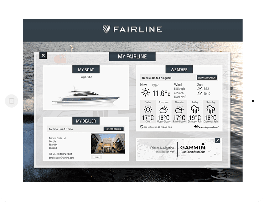 Fairline Boats Explorer