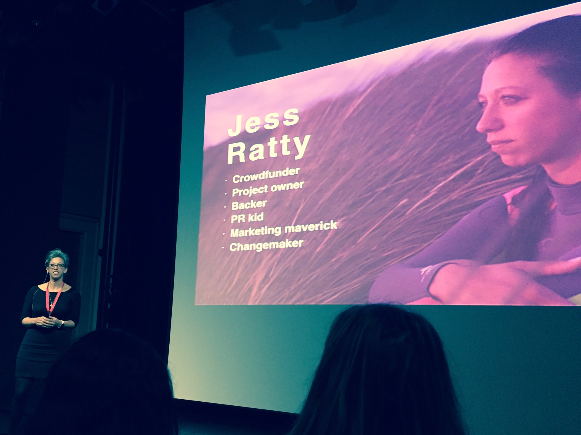 Jess Ratty (Crowdfunder) presentation at Silicon Beach